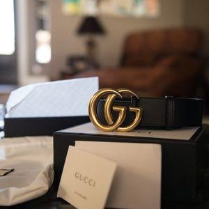 NWT Gucci logo belt.